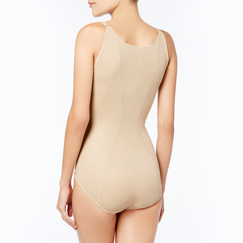 Firm Control open bust body shaper