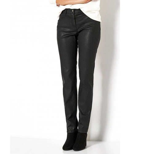 Perfect Shape Pipe Black Trousers