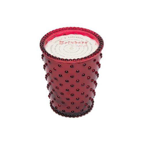Simpatico Hobnail Glass Candle #29 Reindeer