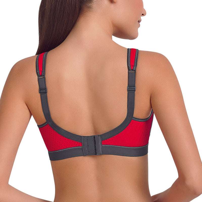 Momentum Iconic Grey Sports Bra
