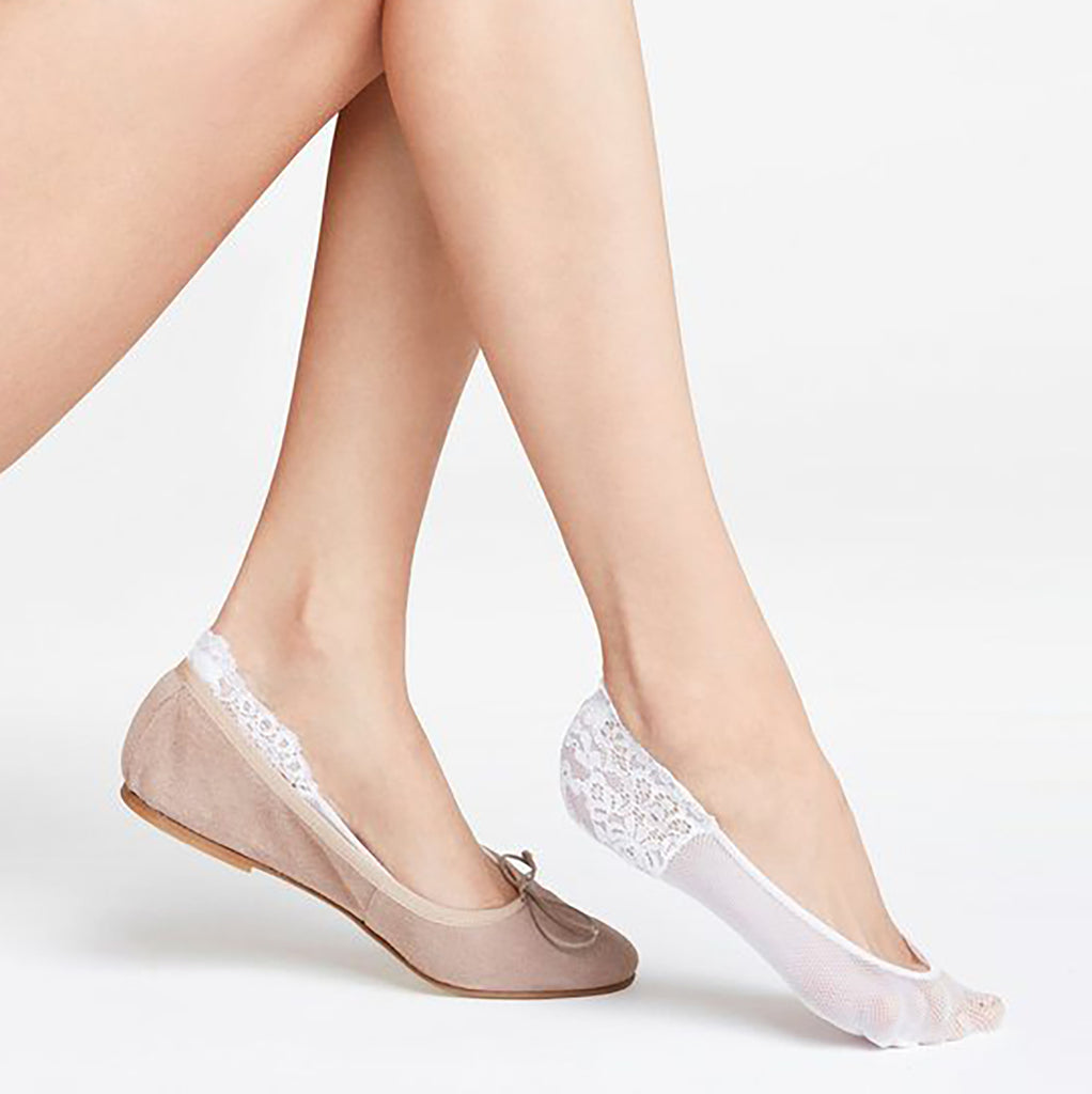 Falke Secret no show socks 41413/2209 | SHEEN UNCOVERED, white