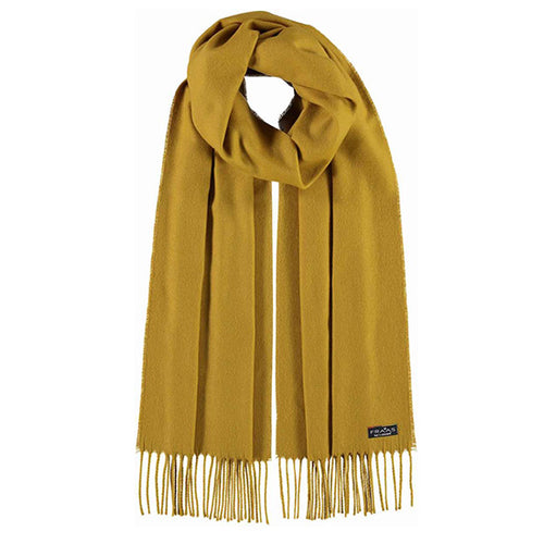 Fraas Cashmink Scarf Style 1 035/200 AW19 | SHEEN UNCOVERED, Kiwi