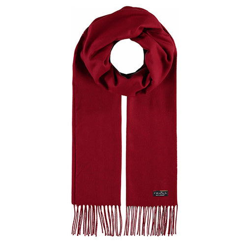 Fraas Cashmink Scarf Style 1 035/200 AW19 | SHEEN UNCOVERED, Red