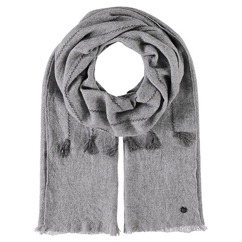 Fraas Wool Wrap Style 1  050/180 AW19 | SHEEN UNCOVERED, Grey