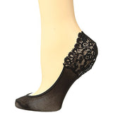 Falke Secret no show socks 41413/2209 | SHEEN UNCOVERED, black