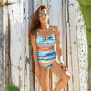 High Noon Multi Strip Swimsuit