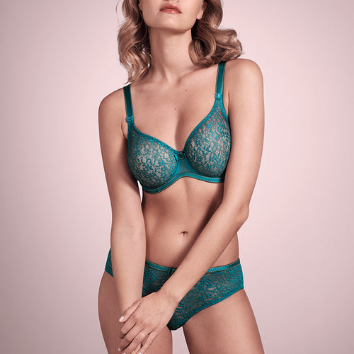 Allure Jade Underwired Seemless Full Cup Bra