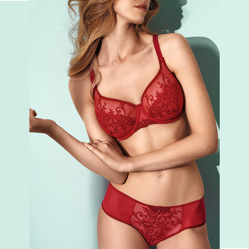 Apolline Red Full Cup Bra