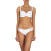 Andora 3D spacer t-shirt bra, White