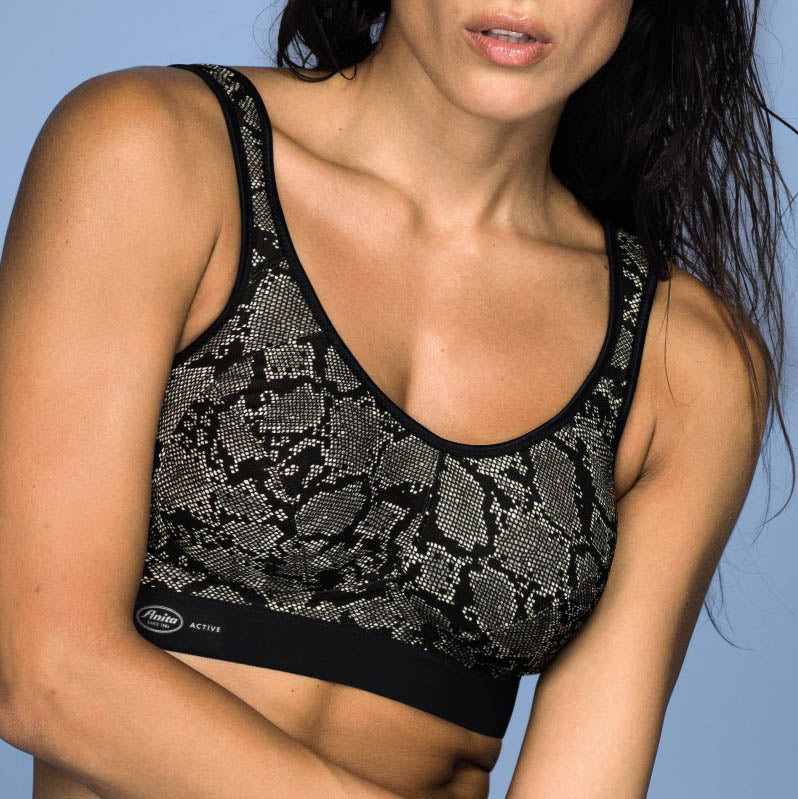 Extreme Control sports bra Cup D-G Python 5527 | SHEEN UNCOVERED