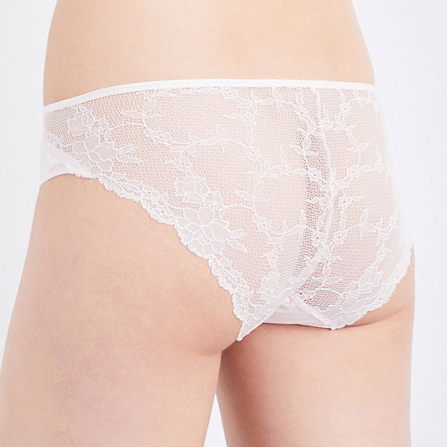 Everyday Lace brief back, Light Pink
