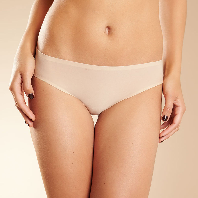 Soft Stretch brief, Nude