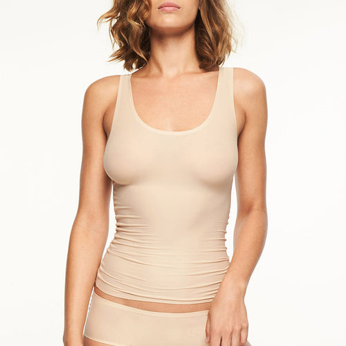 Chantelle Soft Stretch Seamless Vest | SHEEN UNCOVERED, Nude