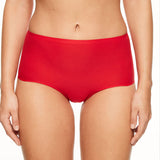 Chantelle Soft Stretch seamless high waisted brief C26470 | SHEEN UNCOVERED, Poppy
