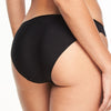Chantelle Orangerie brazilian brief back view, Black