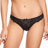 Chantelle Orangerie brazilian brief, Black