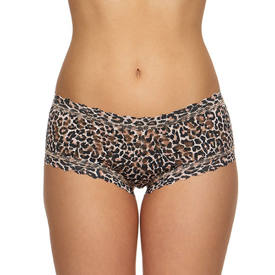 Hanky Panky Classic Leopard Boyshort 12X1284 | SHEEN UNCOVERED