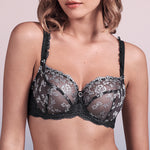 Flora Griss Smoke Low Neck Bra