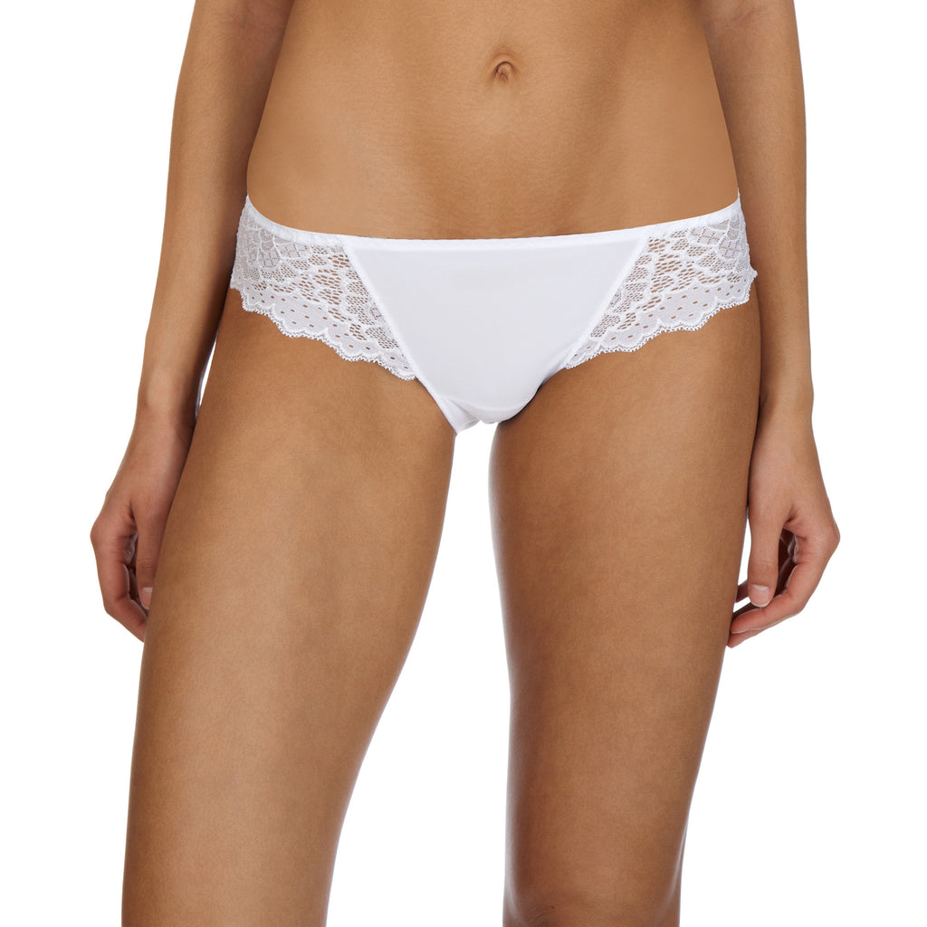 Caresse brief, White