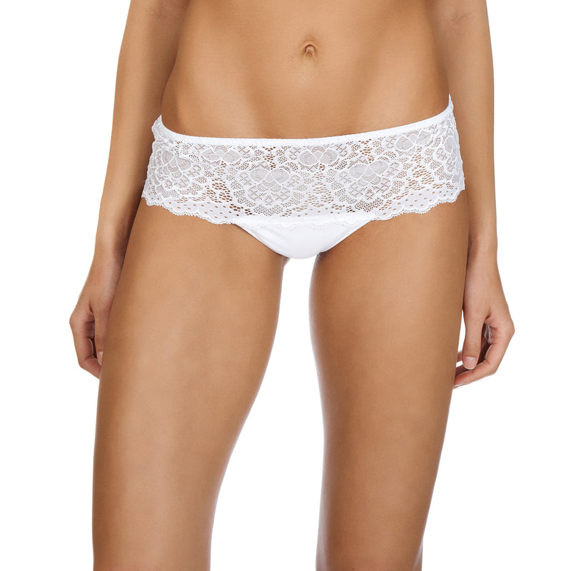 Caresse shorty, White