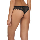 Caresse thong, Black