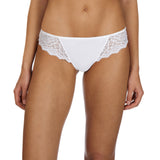 Caresse thong, White