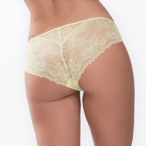 Fabulous Pale Lime Hipster Brief