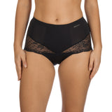 Seductive Lights shape wear brief, Black