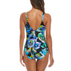 Fantasie Swim Paradise Twist Front Suit Aqua FS6481 | SHEEN UNCOVERED