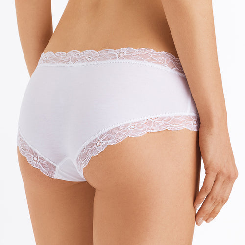 Hanro Cotton lace hipster 072435 | SHEEN UNCOVERED