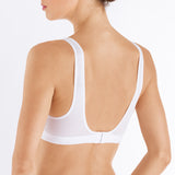 Hanro Aurelia Soft Cup Bra White 072648 0101 | SHEEN UNCOVERED