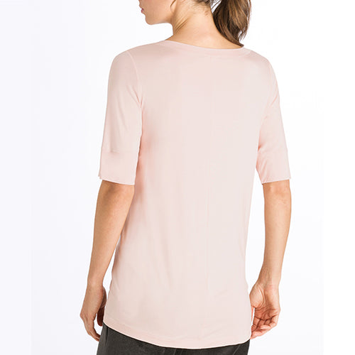 Yoga short sleeve T-Shirt Easy Rose