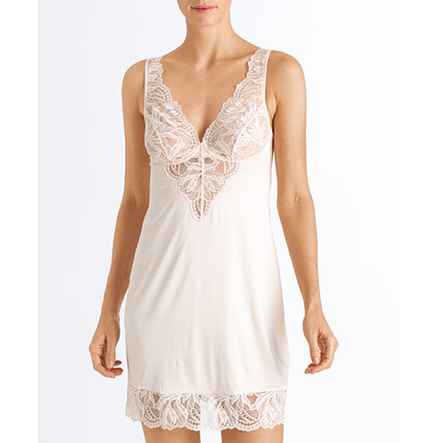 Hanro Lynn Negligee 072746 | SHEEN UNCOVERED , Iced Blossom