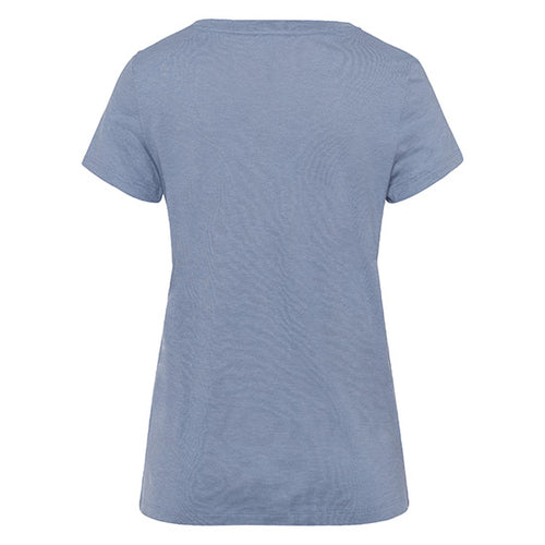 Sleep & Lounge Short Sleeve T-shirt Caribbean Blue