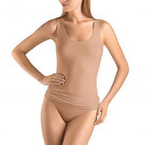 Hanro Soft Touch Thank Top 071257 | SHEEN UNCOVERED, Nude, Black