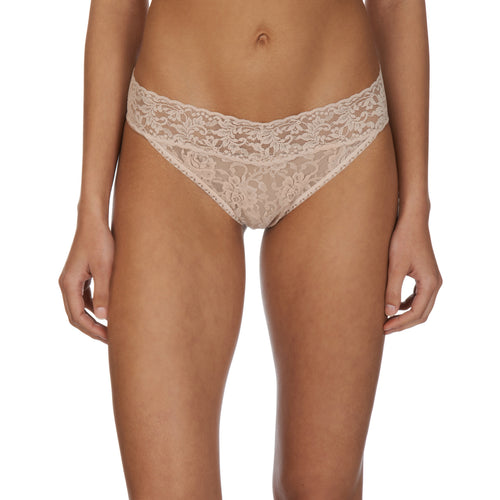 Hanky Panky Original thong front view, Chai