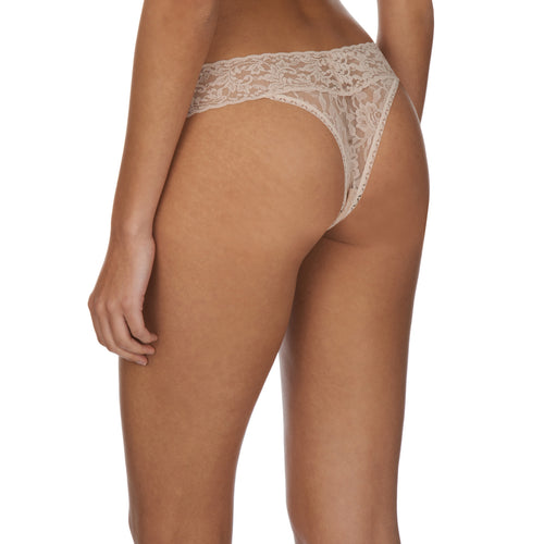 Hanky Panky Original thong back view, Chai