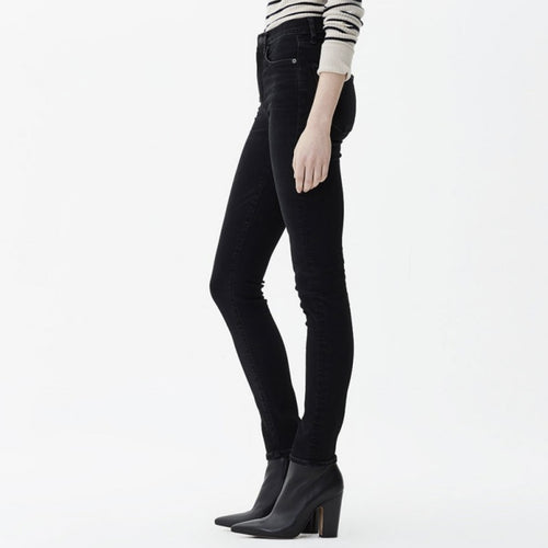Harlow high rise slim jeans in 'Descend'
