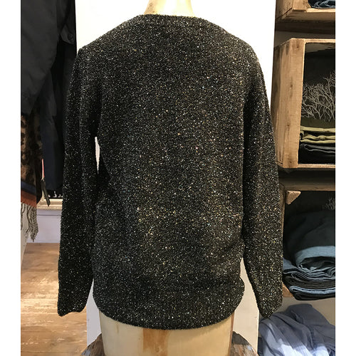 Shiva Metallic Sweater