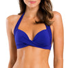 Jets Moulded Bikini Top front J4984 | SHEEN UNCOVERED, Atlantic