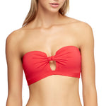 Jets Tab Front Bandeau Top Flamingo J4941 | SHEEN UNCOVERED