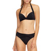 Jets Moulded Bikini Top J4984 and wrap bottom  | SHEEN UNCOVERED, Black