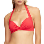Jets Moulded Bikini Top front J4984 | SHEEN UNCOVERED, Flamingo