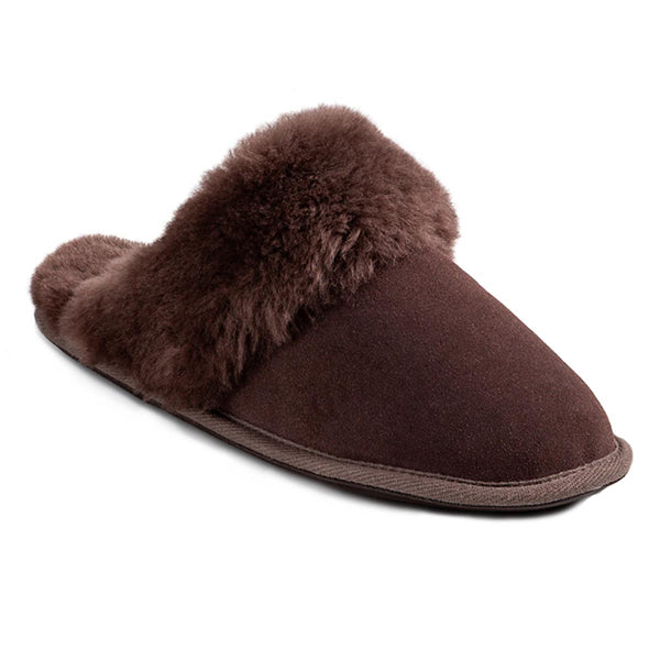 Ladies Duchess Sheepskin Slippers