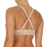 Mélody seamfree multi way plunge bra, Nude