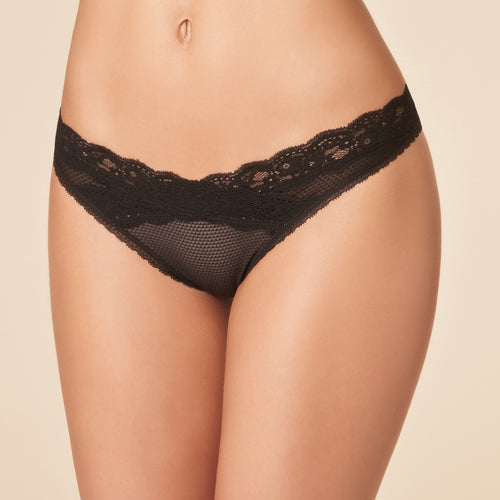 Passionata Brooklyn Tanga P57070, Black