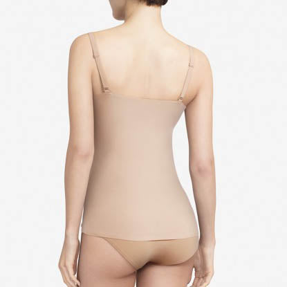 Chantelle Soft Stretch camisole Back  C26460 | SHEEN UNCOVERED, Nude