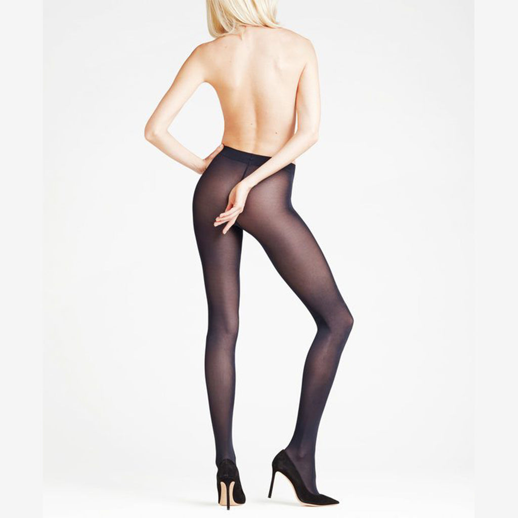 Falke Seidenglatt tights 40 Den 40440 | SHEEN UNCOVERED, marine