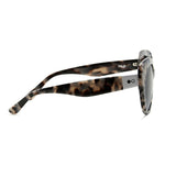 Amara Cateye sunglasses Grey Tortoiseshell side view