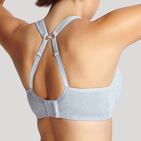 Panache Grey Marl wired sports bra Cup D - F 5021 | SHEEN UNCOVERED